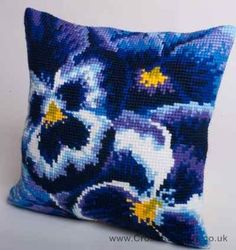 Hiver - Winter Cushion Front Cross Stitch Kit by Collection D'Art