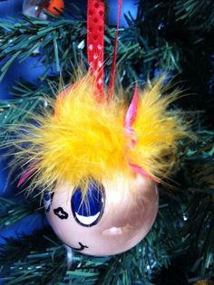 Cindy Lou Who ornament, Christmas ornament, The Grinch