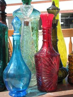 old decanters