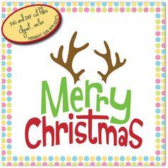 Merry ChrisTmas svgchristmaschristmas cut filechristmas