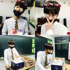 Before the day end so HAPPY BIRTHDAY MY LITTLE BABY hope you gain alot of confident and lets debut jinyoung! Im so happy his classmates celebrated his birthday todayㅠㅠㅠㅠ thank you for your exist jinyoung! 생일축하해 진영아 anw that eyepatch tho #HappyBaeJinyoungDay #18thjinyoungday ㅡ ㅡ ㅡ  ㅡ #프로듀스101 #프로듀스101시즌2 #produce101 #produce101mnet #mnet #pd101season2 #produce101season2 #kpopshoutout #kpopf4f #kpopl4l #엠넷 #kpop #exo #bigbang #twice #bts #seventeen #nct #snsd #ioi…