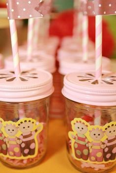 Drinks at an In the Night Garden Party #nightgarden #partydrinks