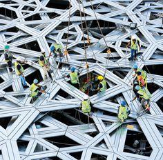 En construcción: Museo Louvre en Abu Dhabi, de Jean Nouvel - Arquitectura Viva · Revistas de Arquitectura