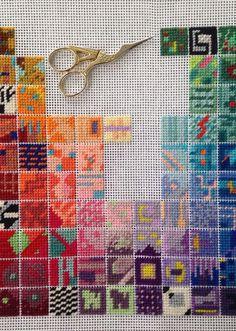 Cross Stitch Pillow, Cross Stitch Love, Cross Stitch Bookmarks, Modern Cross Stitch, Cross Stitch Designs, Cross Stitch Patterns, Hand Embroidery Art, Cross Stitch Embroidery, Embroidery Patterns