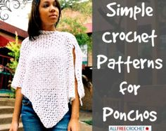 free crochet poncho patterns for women | ... free dowloadable eBook, 16 Crochet Shawl Patterns: DIY Clothing You'll