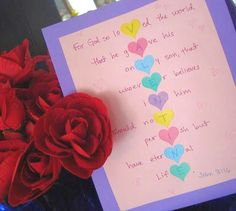 14 Days of Loving Jesus in February: a twist on Valentines Day.