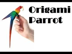 How to make an Origami AFRICAN PARROT so EASY™ - YouTube