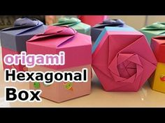 Origami Hexagonal Box