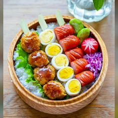 Bento Recipes, Healthy Recipes, Dessert Drinks, Desserts, Tasty, Yummy Food, Bento Box, Food Cravings, Creative Food