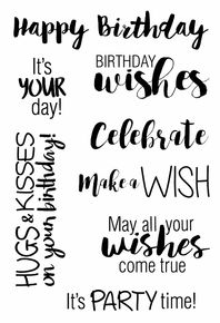 Jane's Doodles Clear Stamps Birthday Wishes Happy Birthday For Him, Happy Birthday Best Friend, Birthday Cards For Friends, Birthday Wishes, Birthday Ideas, Silly Images, Happy Birthday Typography, Monster Squad, Wish Come True