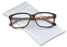 bd7d0b1da43 WearMe Pro Square Modern Frame Clear Lens Glasses - Non prescription