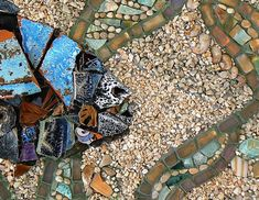 Underwater Dance Mosaic by David Chidgey