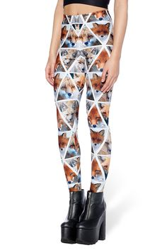 Foxy HWMF Leggings – Black Milk Clothing