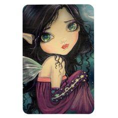 Items similar to Gothic Big Eye Fairy Fantasy Fine Art Print by Molly Harrison 8 x 10 - Big Eyes, Acrylic, Cute, Faery, Fairies on Etsy Decoupage, Fairy Pictures, Unicorns And Mermaids, Kunst Poster, Fantasy Kunst, Beautiful Fairies, Illusion Art, Fairy Dust, Fairy Tales