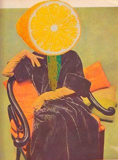 she was such a lemon head Collages, Collage Art, Lemon Head, Bizarre, Art For Art Sake, Mellow Yellow, Artistic Photography, Photo Illustration, Altered Art