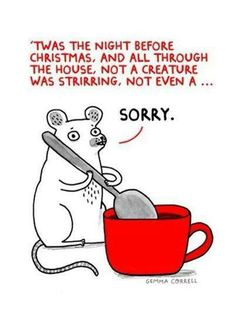 funny humor mouse mice LOL 'twas the night before Christmas Funny Shit, The Funny, Funny Stuff, Funny Things, Random Stuff, Awesome Stuff, That's Hilarious, Nerd Stuff, Random Things