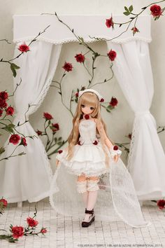 Silver butterfly by Azone doll