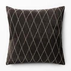 Pledd Chevron grå Sweet Home, Chevron, Throw Pillows, Interior, Inspiration, Bedroom, Marble, Biblical Inspiration, Toss Pillows