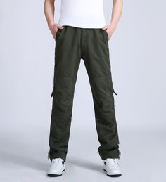 OONU NEW Winter Double Layer Thick Men's Cargo Pants Warm Baggy Pants Cotton Trousers For Men Male Military Camouflage Tactical