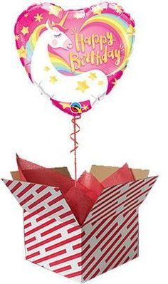 Magical Unicorn Birthday Balloon #unicorn #birthday #helium #balloon