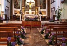 decoración de iglesias para bodas - Buscar con Google