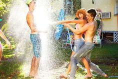 shareable effect off fun pics -  inspire to reblog    The Fishbone Spring 2011 Campaign Captures Fun Summer Shenanigans #coachella #mensfashion trendhunter.com