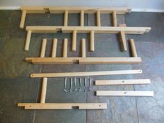 Floor inkle loom
