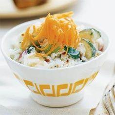 Yogurt-Rice Salad Recipe | MyRecipes.com