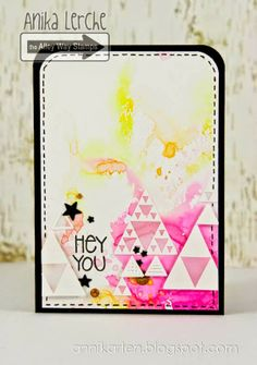 The Alley Way Stamps: Hey You Annikarten: The Alley Way Stamps Stamp sets: Tri Me, The Alley Way Stamps, TAWS, cards, clear stamps