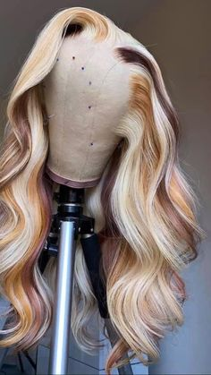 Black Girl Braided Hairstyles, Baddie Hairstyles, Colored Weave Hairstyles, Prom Hairstyles, Wig Styles, Curly Hair Styles, Natural Hair Styles, Natural Beauty, Birthday Hairstyles