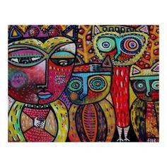 QUEEN OF OWLS BY SANDRA SILBERZWEIG
