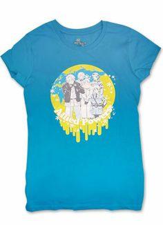 Amazon.com: Hetalia Allied Power Girl T-Shirt Blue (S): Clothing