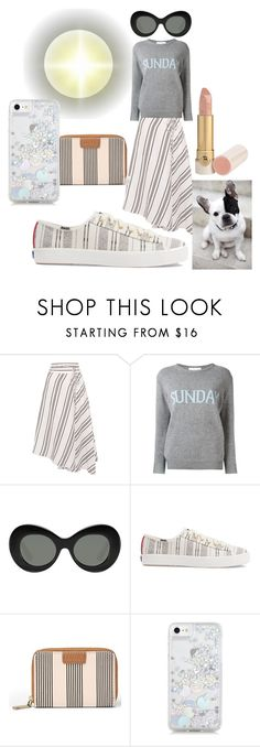 """""""Sunday Funday with Pepa the dog"""" by feralkind ❤ liked on Polyvore featuring Apiece Apart, Alberta Ferretti, Elizabeth and James, Keds and Skinnydip"""