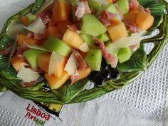 Presunto and Melon Salad | Presunto com Melão Recipe from Tia Maria's Blog