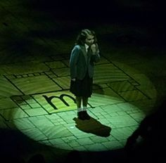 The Matilda the Musical on Broadway - starring the unbelievable Eliza Madore Holland the evening we attended