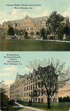 New Orleans La~Gibson Hall And Richardson Medical School~Tulane University~1912