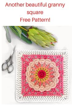 25 Free crochet granny squares released for Granny Square Month Crochet Granny, Free Crochet, Crochet Designs, Crochet Patterns, Crochet Earrings, Granny Squares, Diy, Beautiful, Tejidos