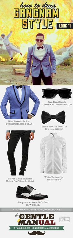 Awesome! How to Dress Gangnam Style: Tuxedo Look from Ties.com®