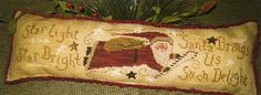 Primitive Cross Stitch Pattern - Cinnamon Stick Christmas XXIII - Such Delight