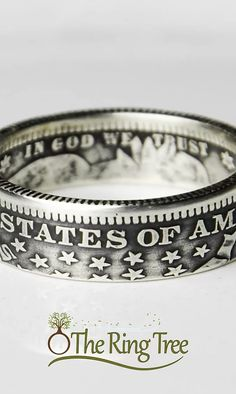 Come Browse Through Our Unique Handmade Coin Rings Ideen