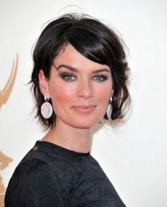 Lena Headey Hairstyle, Makeup, Dresses, Shoes and Perfume - http://www.celebhairdo.com/lena-headey-hairstyle-makeup-dresses-shoes-and-perfume/