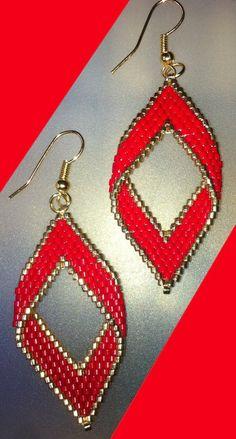 AMENIA - Boucles d'oreilles en perles de miyuki