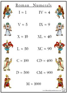 "homeschool ""roman numerals"" camp - Google Search"