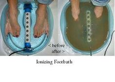Ionizing foot baths. Such a simple way to detoxify your body. Call our office to see how you can book your FREE session.  Detoxification | The Brand Wellness Center | Holistic & Natural Dentistry - Enlightened Dentistry