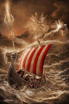 Njord (Norse mythology) chief of the Vanir; god of the sea and winds and prosperity; father of Frey and Freya; sometimes subsumes Teutonic Nerthus
