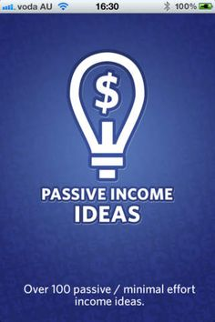 Passive Income Finance Lifestyle iPhone App *** $3.99 -> FREE...: Passive Income Finance Lifestyle iPhone App… #iphone #Finance #Lifestyle