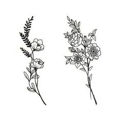 Boquet of each birth flower of family with wheat from my zodiac sign: