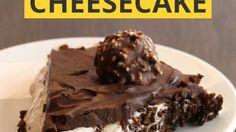 Ferrero Rocher Cheescake