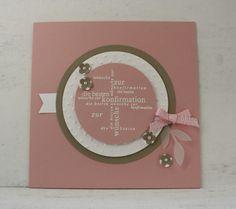 Glückwunschkarte zur Konfirmation von Papierverliebt auf DaWanda.com