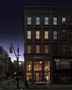 Hermès Madison Men store, New York.